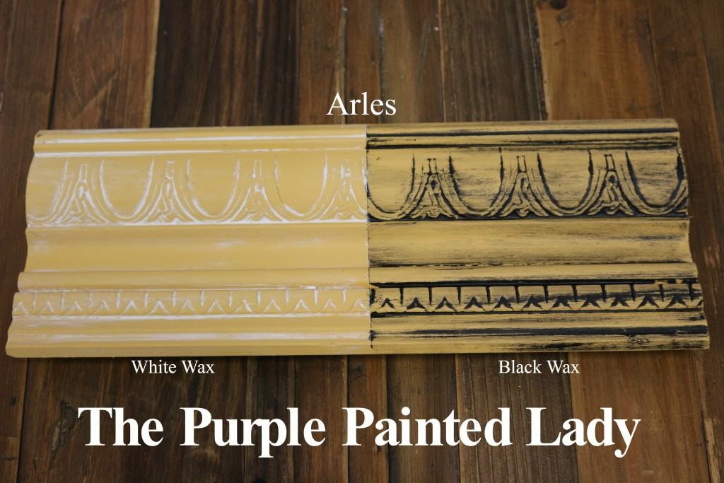 Chalk Paint Sample Board Colors All In A Row The