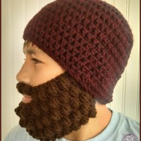 Crochet Bobble Beard Review - Free Pattern