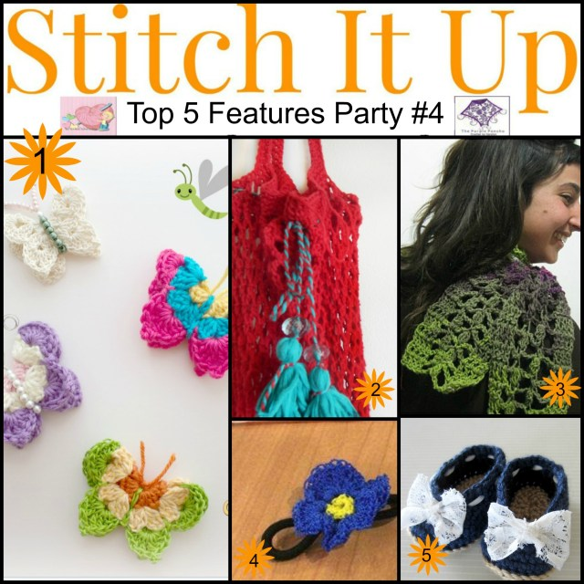 Featured on Stitch It Up Link Party #4