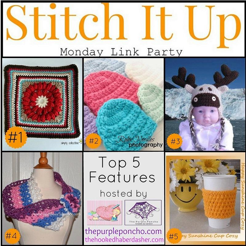 Stitch It Up Link Party #3