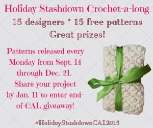 HolidayStashdownCAL2015 Giveaway Dates