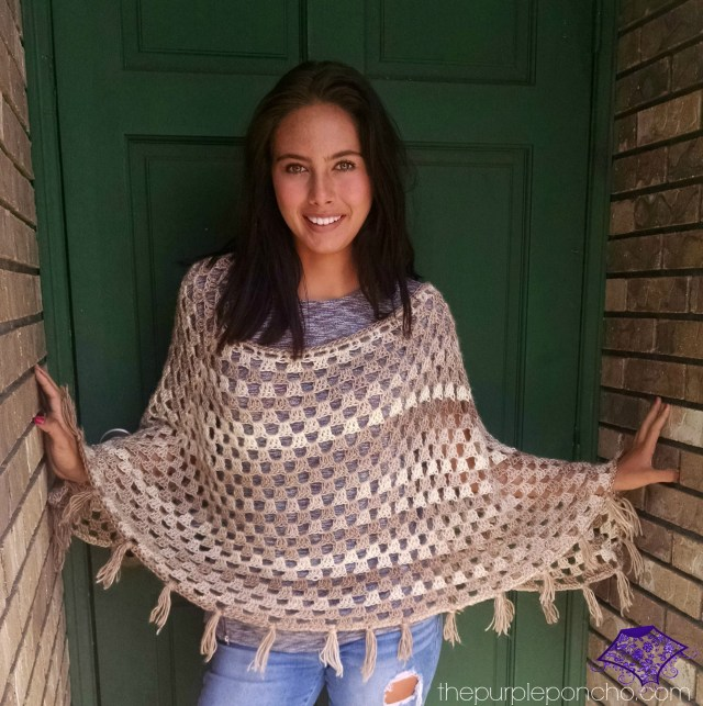 Timeless Boho Poncho by Carolyn Calderon