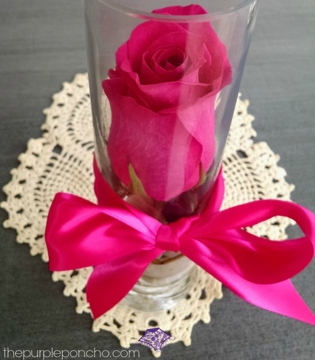Pink Rose by The Purple Poncho