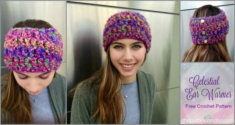 Celestial Ear Warmer - Free Crochet Pattern