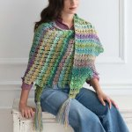 Broomstick Lace Shawl – Noro Magazine