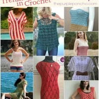 Trending In Crochet - Summer Tops!