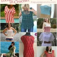Trending In Crochet - Summer Tops!