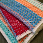 Chasing Colors Blanket – Free Crochet Pattern