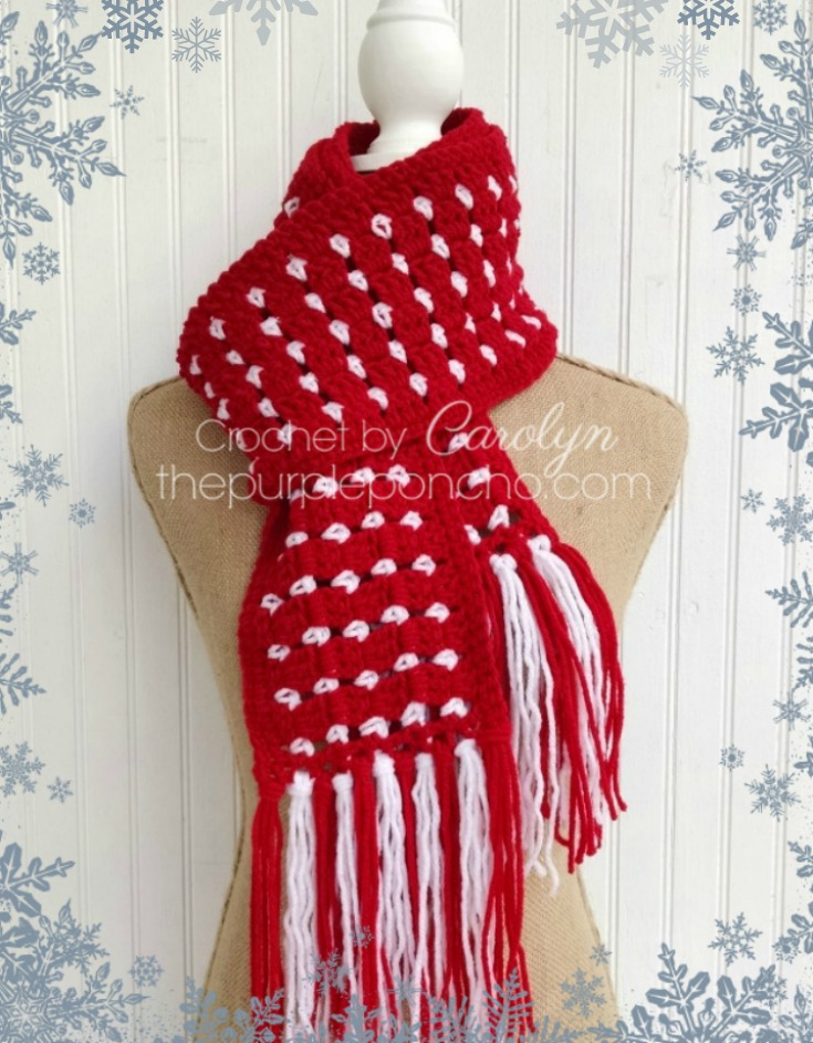 Block Stitch Scarf - Free Crochet Pattern