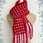 Block Stitch Scarf – Free Crochet Pattern
