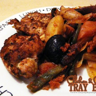 Chicken & Chorizo Tray Bake
