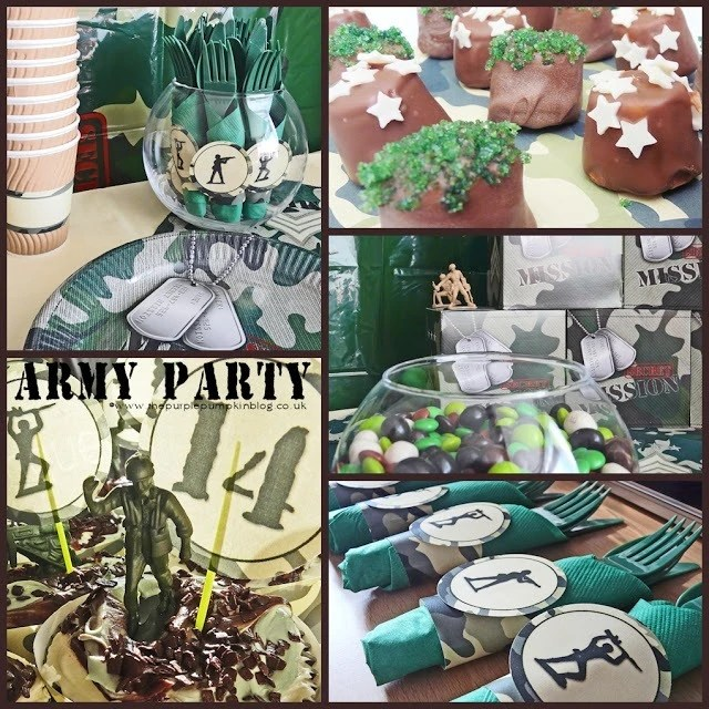 Army Themed Party