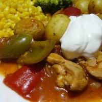 Hungarian Chicken Stew