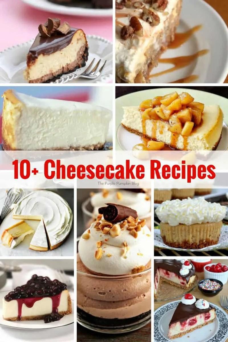 10 Cheesecake Recipes