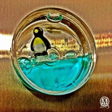 Penguin Fridge Magnet