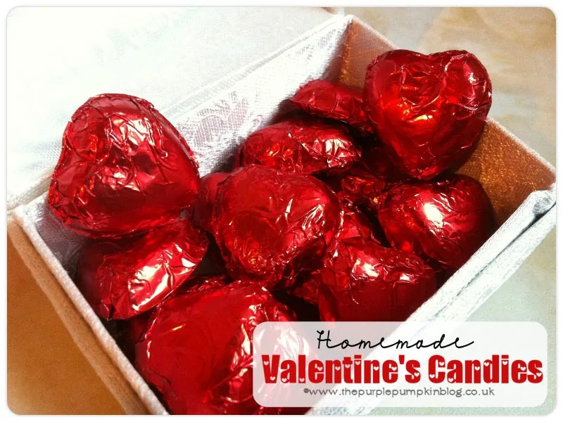 Homemade Valentines Candies