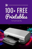 100+ awesome FREE PRINTABLES to download and print at home! There are printables for parties, organisation, home, school, Halloween, Christmas and more!