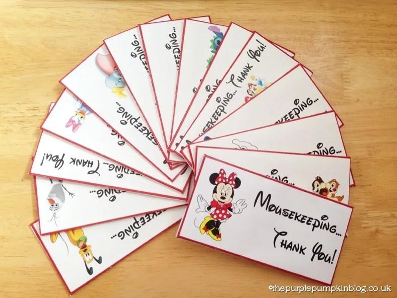 photo about Disney Printable Envelopes named Totally free!! Disney Mousekeeping Idea Envelopes Totally free Disney