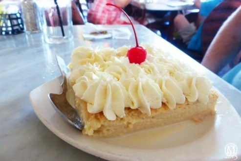 Tres Leches at Bongos Cuban Cafe