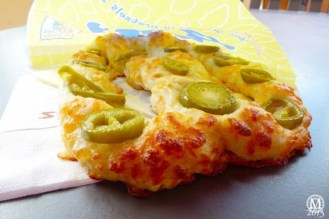 Chili Cheese Pretzel at Downtown Disney