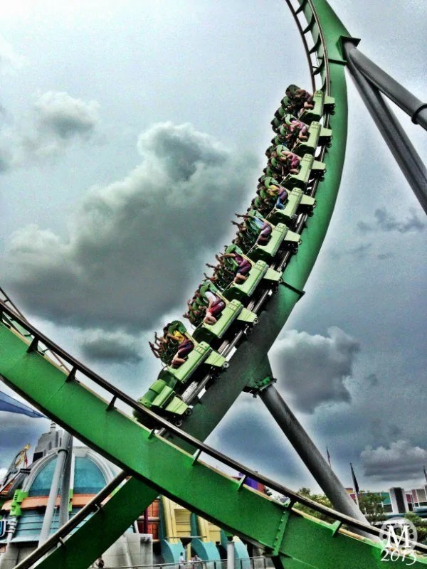 The Incredible Hulk Coaster