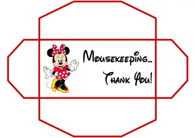 photograph about Disney Printable Envelopes named Free of charge!! Disney Mousekeeping Idea Envelopes No cost Disney
