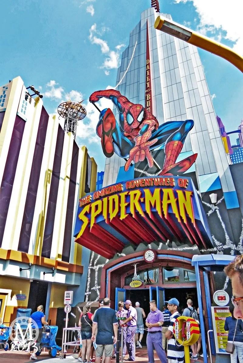 Spiderman Ride, Islands of Adventure