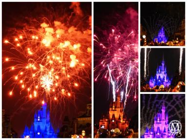 Magic Kingdom Wishes Fireworks 2013