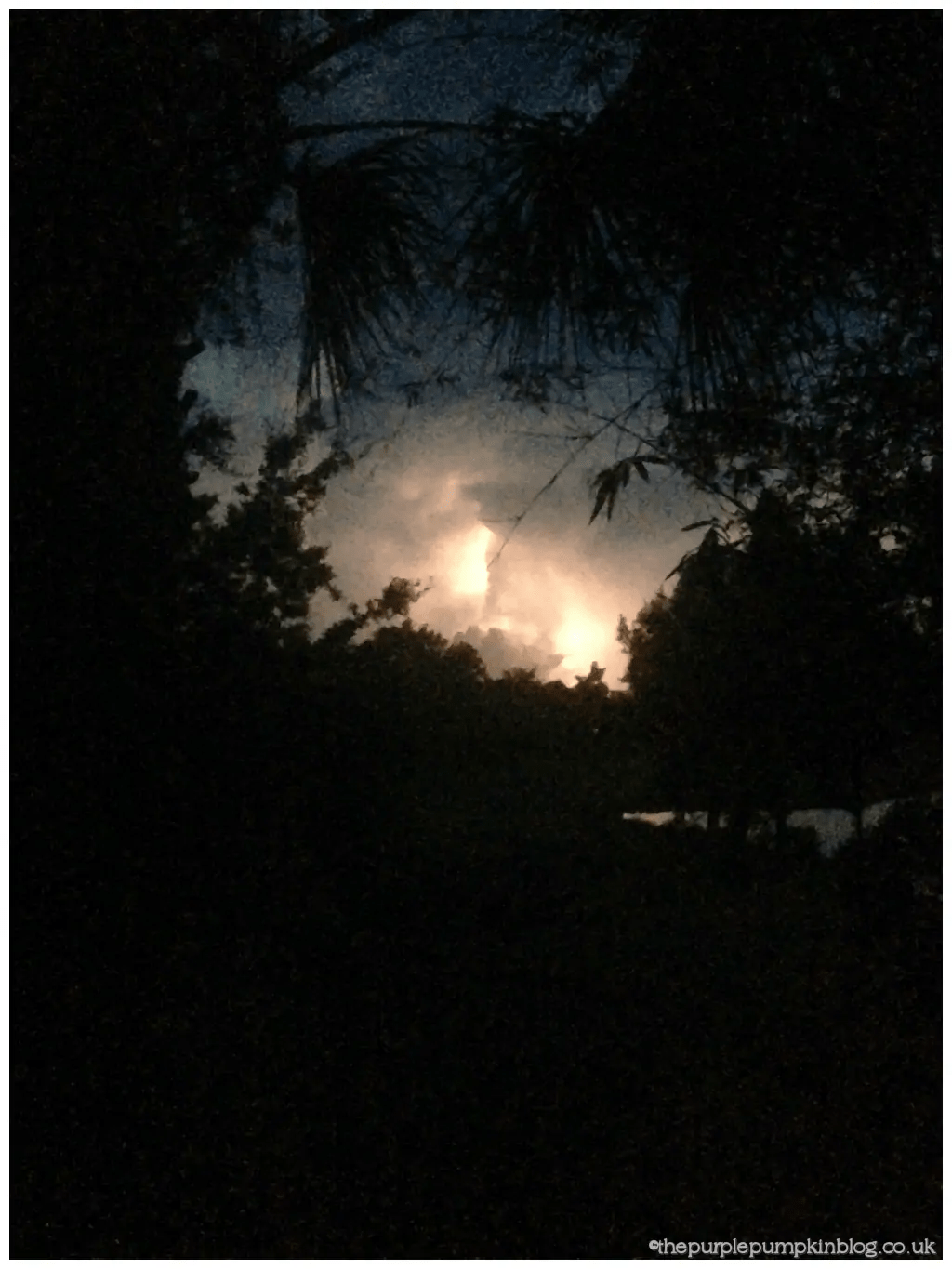 Early Morning Lightning Storm at Old Key West
