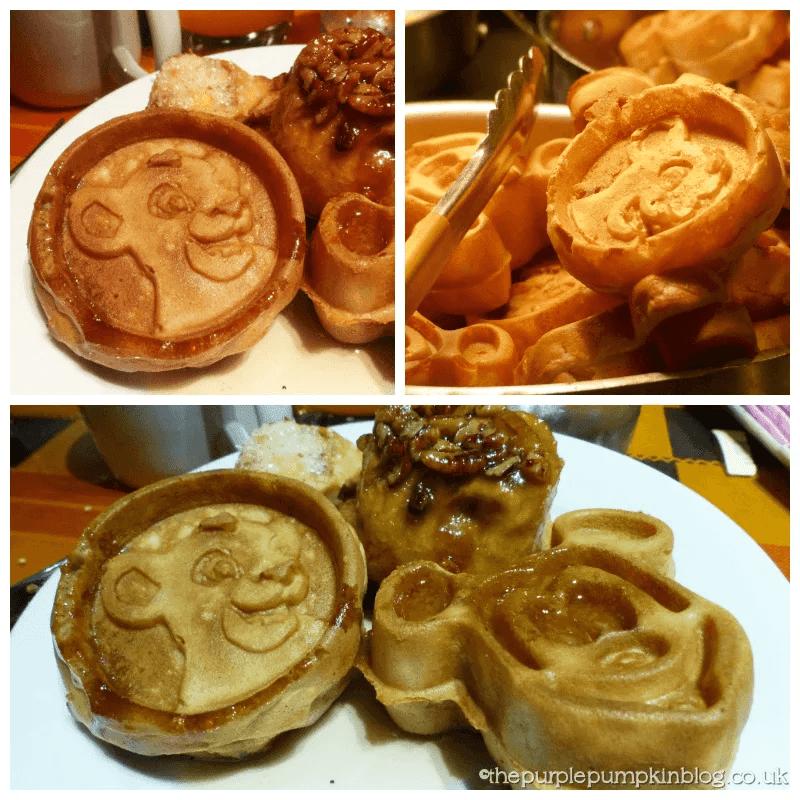 Boma Breakfast Simba Waffles