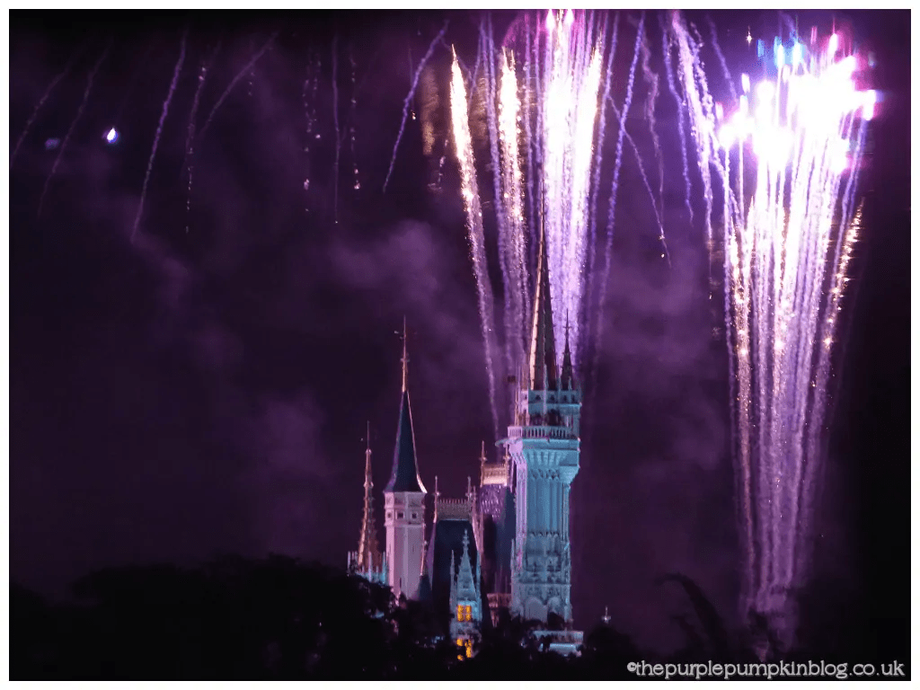 Wishes Fireworks from Narcoosees