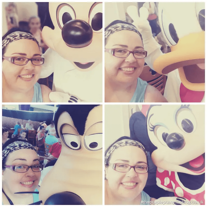 Chef Mickey's Selfies