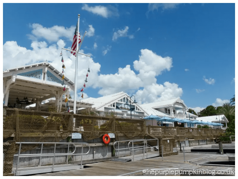 Old Key West to Downtown Disney Boat