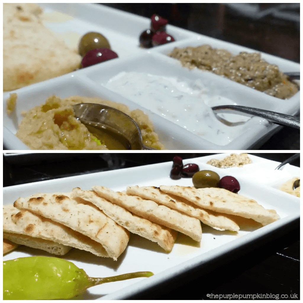 Kouzzina by Cat Cora Bread and Dips