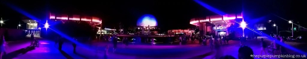 Epcot Spaceship Earth Panoramic