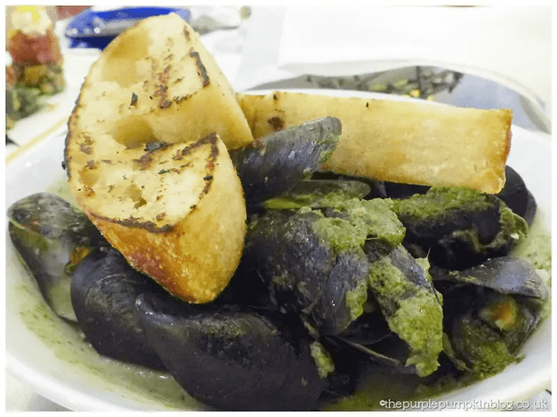 Flying Fish Cafe Mussels