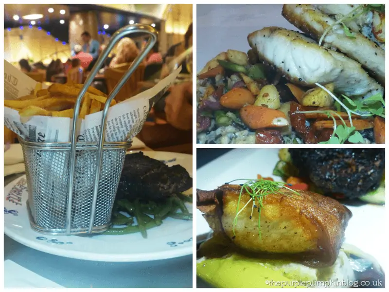 Flying Fish Cafe Entrees