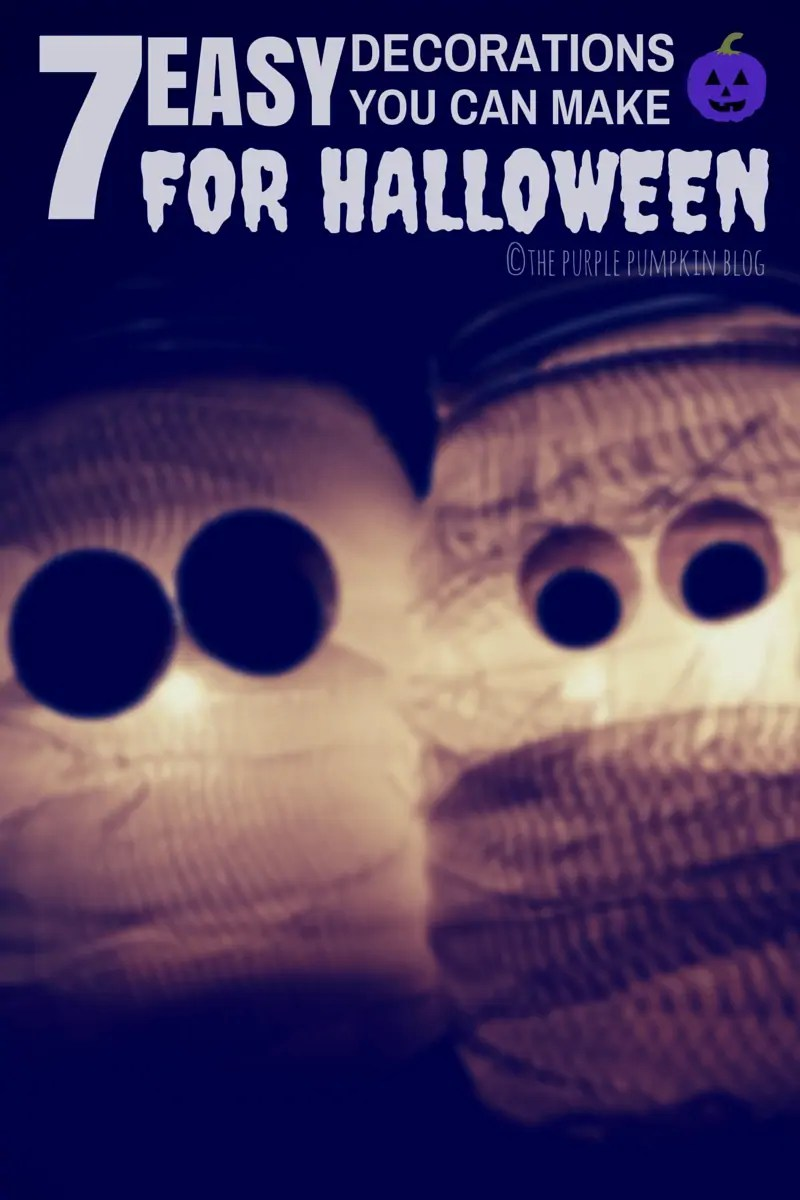 7 Easy Decorations You Can Make For Halloween