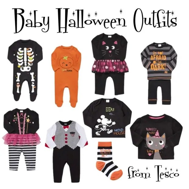 Baby Halloween Outfits From Tesco Asda Craftyoctober