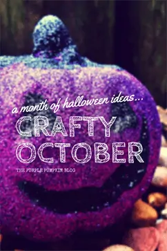 #CraftyOctober 2014 on The Purple Pumpkin Blog