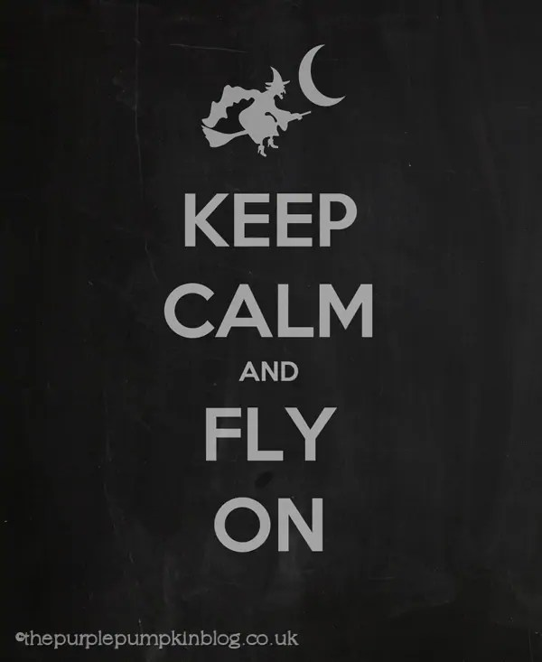 Keep Calm Halloween Poster
