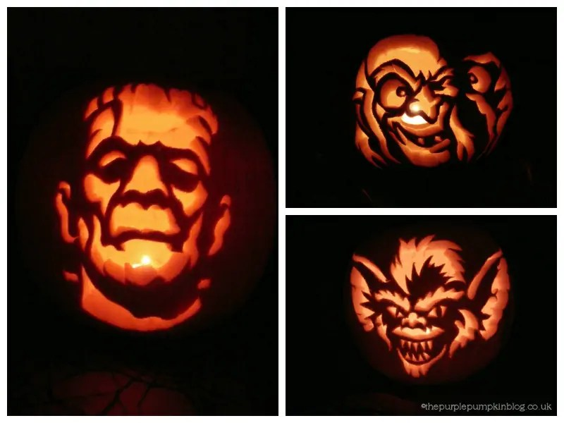 Pumpkin Carvings 2010