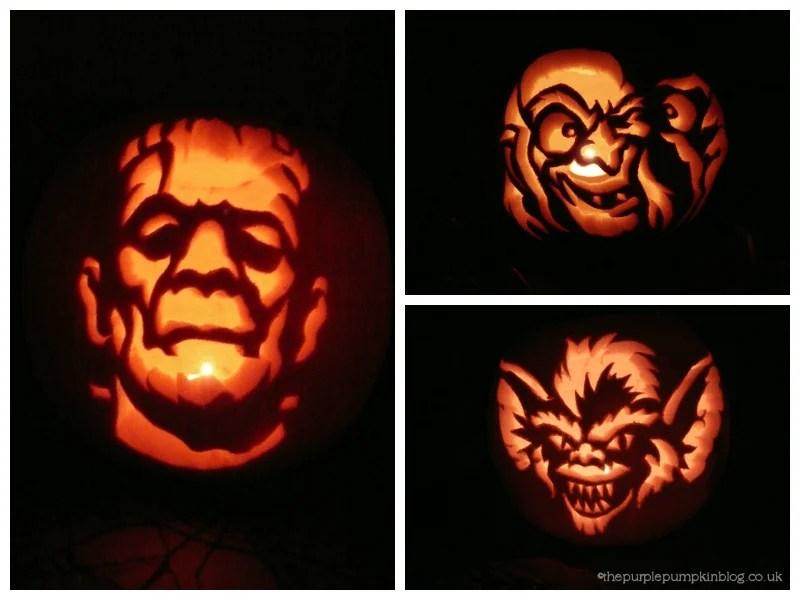 Pumpkin Carvings 2010