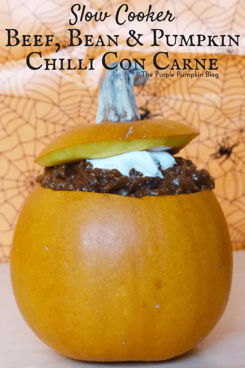 Slow Cooker Beef Bean and Pumpkin Chilli Con Carne