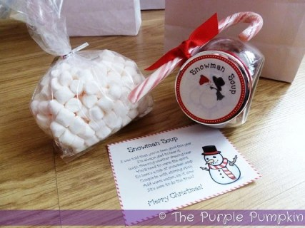 Snowman Soup Printables