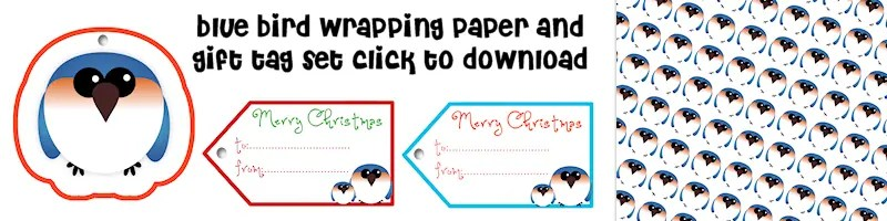 Free Printable Wrapping Paper & Gift Tags
