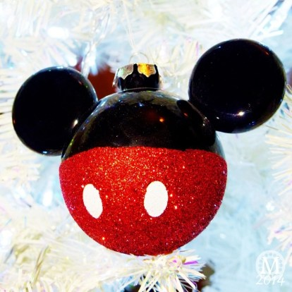 Mickey Mouse Christmas Ornament