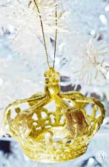 Crown Christmas Ornament