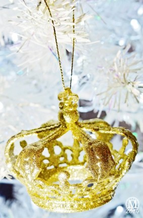 Crown Christmas Ornament