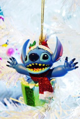Stitch Christmas Ornament